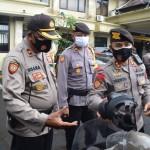 Kapolres Badung Sambut Kunjungan Kerja Wadir Sabhara Polda Bali