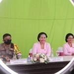Kapolres Bersama Ibu Ketua Bhayangkari Cabang Bangli Ikuti Upacara Peringatan HKGB Ke-68 Tahun 2020 .