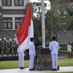 Kapolres Badung Hadiri Puncak Peringatan HUT Kota Mangupura Badung Ke-11 Tahun 2020