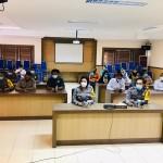 Polres Badung Tatap Muka Dengan Kapolda Bali Melalui Video Conference