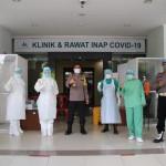 129 Personil Polres Badung Dan Jajaran Lakukan Test Swab