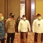 Kapolres Pimpin Pengamanan Debat Terbuka Antar Calon Bupati Bangli di Pecatu Hall,
