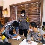 Tim Wasrik Irwasda Polda Bali Disambut Polres Badung.
