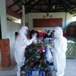 Dilaksanakan 2 Gelombang, 138 Personel Kodim Bangli Jalani Pengambilan Specimen PCR atau Swab