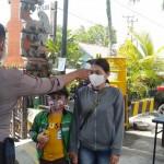 Polres Badung Perketat Masuk Komando, Mencegah Penyebaran Virus Covid -19