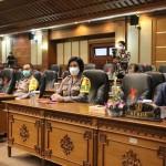 Wakapolres Badung Hadiri Rapat Paripurna DPRD