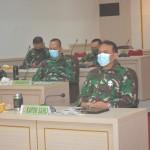 Pangdam IX/Udayana Ikuti Rakor Satgas Nasional Covid-19, Antisipasi Natal dan Tahun Baru 2020.