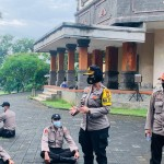 Puluhan Siswa Diktukba Polri Orientasi Kegiatan di Polres Badung