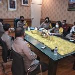 Kapolres Badung Ikuti Kegiatan Virtual Anev Mingguan Polda Bali