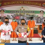 Polisi Ringkus 4 Pengedar dan Kurir Narkotika Sabu-sabu