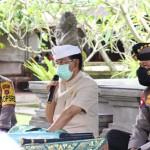 Kapolres Badung Dampingi Kapolda Bali, Silahturahmi di Puri Ageng Mengwi