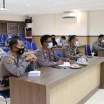 Hari ke 2 Pelaksanaan PPKM Berskala Micro, Kapolres Badung Langsung Anev
