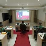 Dipimpin Panglima TNI, Pangdam IX/Udayana Ikuti Rapim TNI Tahun 2021 Secara Daring