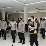 Kapolri Tinjau Pelaksanaan Vaksinasi Covid-19 Tahap II 36.292 Personel Polda Jabar