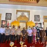 Kapolda Bali Silaturahmi Ke Puri Agung Klungkung.
