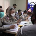 Polres Badung Menerima Tim Asistensi Dan Supervisi Ops Keselam.atan Agung 2021Dari Korlantas Polri