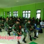 1000 Prajurit Korem 163 Wira Satya Disiapkan Jadi Tracer Kontak Erat COVID-19.