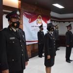 Puluhan Personil Polres Badung Ikuti Upacara Virual Hari Bhayangkara Ke -75