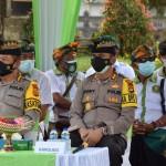 Kapolres Badung Dampingi Kapolda Bali Melaksanakan Kunjungan Kerja di Pura Taman Ayun Mengwi