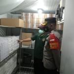 Personel Polres Badung Jaga Ketat Gedung Instalasi Farmasi