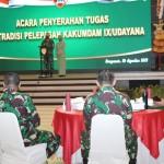 Pangdam IX/Udayana Melepas Kolonel Chk Heru Eko Budi Susilo, Melaksanakan Tugas Baru