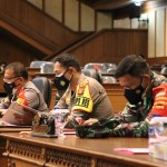 Kapolres Badung Hadiri Rapat Paripurna DPRD Kabupaten Badung