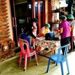 Sembanyak 27 Warga Lansia Desa Dalung  Mendapatkan Vaksin Door to Door Tahap 1