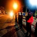 Pawas Pimpin Team Gabungan Polsek Abiansemal dan Satpol PP Melaksanakan Pemantauan Ppkm Level 3