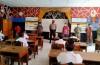 Unit Samapta Pantau Pelaksanaan Pembelajaran Tatap Muka dan Protkes di SD 1 Kuwum.